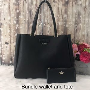 Bundle. Nell Pershing Street Tote and wallet